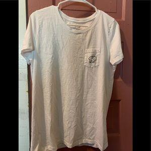 ivory ella Women's White Design T Shirt